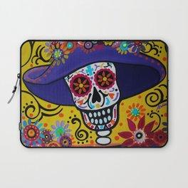 Amiga Dia de los Muertos Catrina Laptop Sleeve