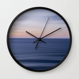 The Calming Sea Wall Clock