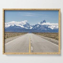 El Chaltén - Patagonia Argentina Serving Tray