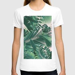 Jungle Leaves Siesta #1 #tropical #decor #art #society6 T-shirt
