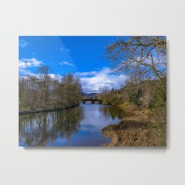 Callander Bridge Metal Print