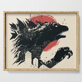 Godzilla Serving Tray