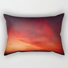 Aurora Sky Rectangular Pillow