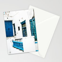 Out of the Blue | Mykonos, Greece Stationery Cards