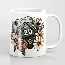 Dungeon Master D20 Tabletop RPG Gaming Dice Coffee Mug