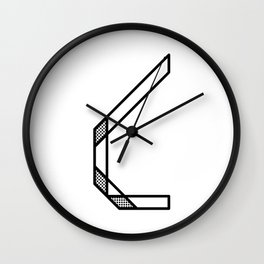 Letter C Wall Clock