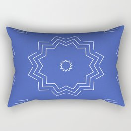 Sun Arrows Pattern Rectangular Pillow