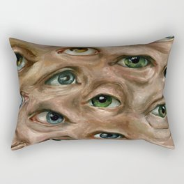 Argus Panoptes Rectangular Pillow