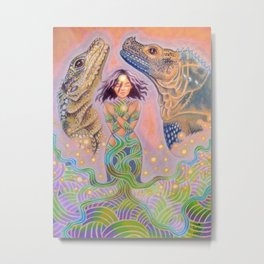 The Summoner Metal Print