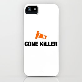 Cone Killer v4 HQvector iPhone Case