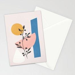 Blush Pink Shapes 01 Stationery Cards