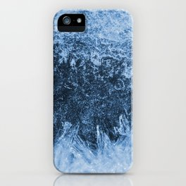 Ice Winter Pattern iPhone Case