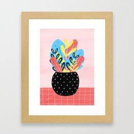 Pastel Florals Framed Art Print