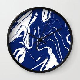 River Blue Wall Clock