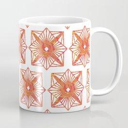 Symmetrical Shapes - Fire Burst Coffee Mug
