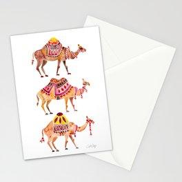 Camel Train Stationery Cards
