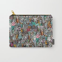 Gemstone Cats Carry-All Pouch