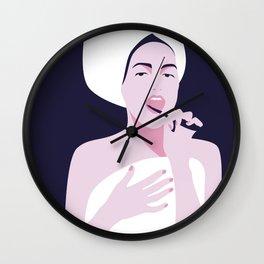 Morning rituals Wall Clock
