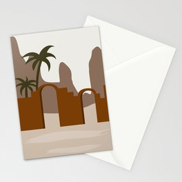 Abstract Landscape #5 Stationery Cards