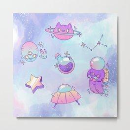My Sweet Space Metal Print