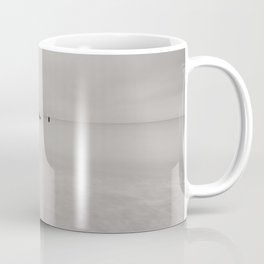 black and white untitled ocean Coffee Mug