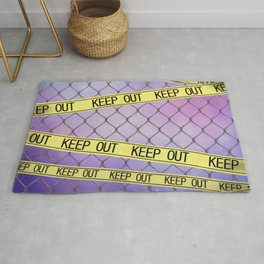 Keep out Rug