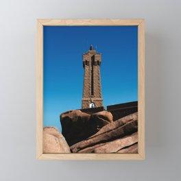 Mean Ruz Lighthouse Framed Mini Art Print