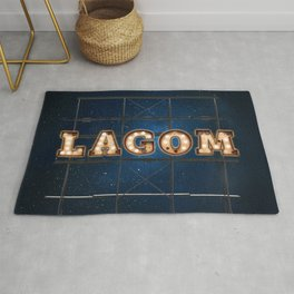 LAGOM  - Hotel - Wall-Art for Hotel-Rooms Rug