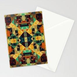 Playful Geometry 5 Stationery Cards