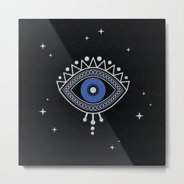 Evil Eye Protection Metal Print