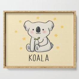 SAVE THE  KOALA Serving Tray