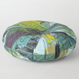 Paradise Palm Floor Pillow