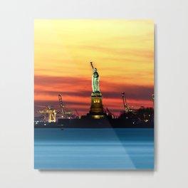 Statue of Liberty NYC (Color) Metal Print