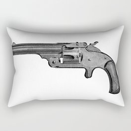 Revolver 6 Rectangular Pillow