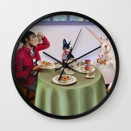 Boston Tea Party Wall Clock