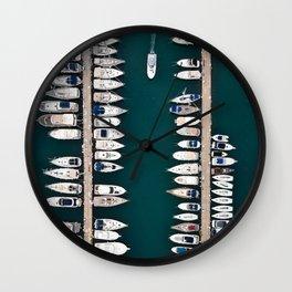 The Catwalk Wall Clock