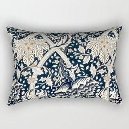 William Morris - Flower Pattern - Artwork Reproduction for Wall Art, Prints, Tshirts, Posters, Men, Women Rectangular Pillow