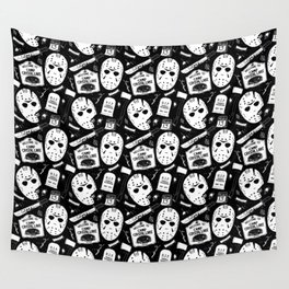Welcome to Camp Crystal Lake! Wall Tapestry
