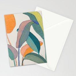 Banana leaves Stationery Cards