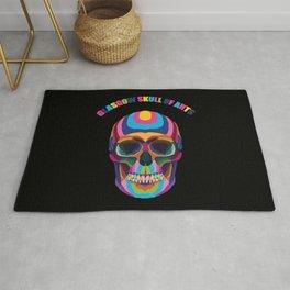 Glasgow School of arts | Glasgow Skull of arts Rug
