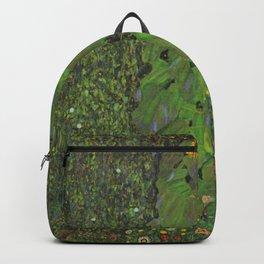 The Sunflower - Gustav Klimt Backpack