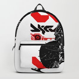 Japanese Illustration Fine Art Cyberpunk Vaporwave Style  Backpack