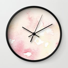 Cluttered Clarity Wall Clock