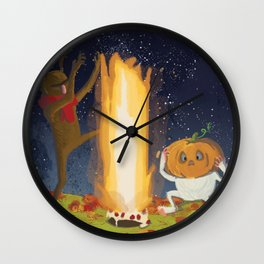Eternal Birthday Autumn Rituals Wall Clock
