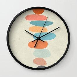 Minimalist Abstract Art 4 Wall Clock