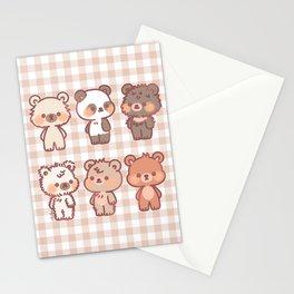 Mundo de Osos Stationery Cards
