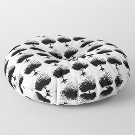 Arbol de la amistad Floor Pillow