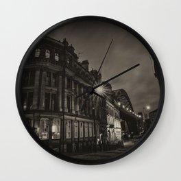 Newcastle Sandhill Atmosphere Wall Clock
