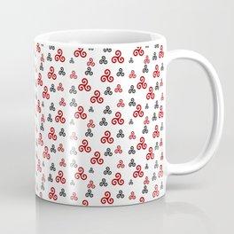 Triskele 15-triskelion,triquètre,triscèle,spiral,celtic,Trisquelión,rotational Coffee Mug