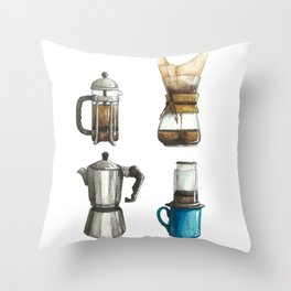 How Do You Brew? Throw Pillow